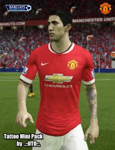 Download FIFA 15 UTO's Faces Tattoo Mini Pack