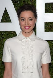 "Aubrey Plaza - Michael Kors Launch Of Claiborne Swanson Frank's ""Young Hollywood"" Event in Beverly Hills 10/2/14"