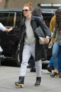 Julianne Moore Takes a mid day stroll down Madison Avenue in New York October 01-2014 x7