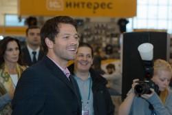 Миша Коллинз в Москве!