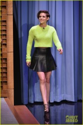 Kristen Stewart - The Tonight Show Starring Jimmy Fallon 10/7/14