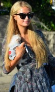 Paris Hilton Seen with her dog Prince Hilton grab some Lunch October 7-2014 x34