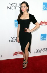 "Emmy Rossum - ""You're Not You"" Premiere in LA 10/8/14"