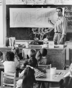 Детсадовский полицейский / Kindergarten Cop (Арнольд Шварценеггер, 1990).  8e4bb7356582507
