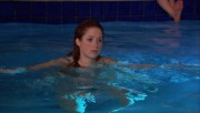 Ellie Kemper in a swimsuit from The Office S08E12, with deleted scenes; 1080p BRrip