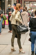 "Ashley Greene on the set of ""Urge""' in New York 10/14/14"