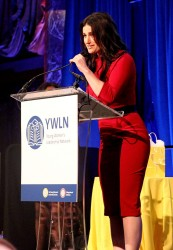singer idina menzel em power speech microphone