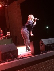 JoJo Levesque at Jacksonville University's Fall Fest 2014 - October 16, 2014