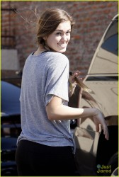 Sadie Robertson at Dancing With The Stars Practice in Los Angeles - October 15, 2014