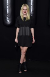 Dakota Fanning - Alexander Wang x H&M Collection Launch in NY 10/16/14