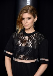 Kate Mara - Alexander Wang X H&M Launch in NYC 10/16/14