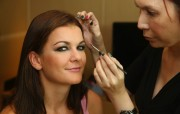 Agnieszka Radwanska before and draw ceremony for the BNP Paribas WTA Finals October 18-2014 x30
