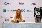 Caroline Wozniacki Press Conference ahead of the WTA October 19-2014 x10