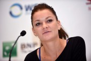Agnieszka Radwanska Press Conference ahead of the WTA October 19-2014 x6
