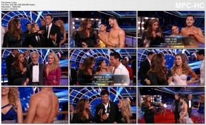 LEAH REMINI - wow cleavage dwts (s19e8) 10.20.2014
