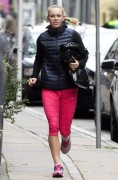 Caroline Wozniacki on the streets of Copenhagen, October 14-2014 x5