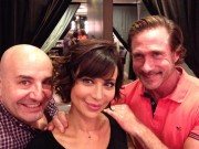 Catherine Bell on set of The Good Witch TV series twitpic 1x
