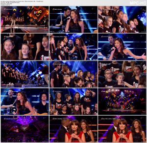 Nicole Scherzinger and SU2C Choir - Brave (Channel 4 HD 10-17-2014) - HD 1080i