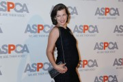 Milla Jovovich ASPCA Compassion Awards cocktail party in Belair, CA October 22-2014 x44