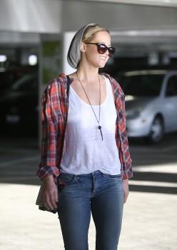 Jennifer Lawrence out in LA 10/22/14 6