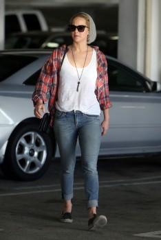Jennifer Lawrence out in LA 10/22/14 10