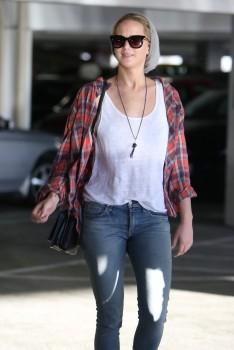 Jennifer Lawrence out in LA 10/22/14 2