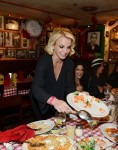 Britney and her dancers have dinner at Buca Di Beppo in Las Vegas - October 23rd