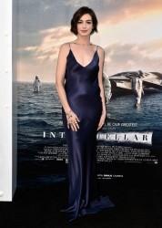 """Anne Hathaway - """"Interstellar"""" Premiere in Hollywood 10/26/14"""