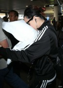 Katy Perry - Face-In-Pillow - Arriving At LAX - Oct 27 2014 *Tagged*