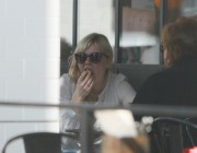 Kirsten Dunst enjoys a hearty lunch with her mother Ocotber 27-2014 x60