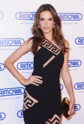Alessandra Ambrosio - Rimowa Store Grand Opening in NYC 10/28/14