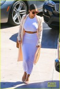 Kim Kardashian - Arriving at Geoffrey's in Malibu 10/29/14