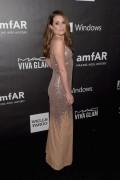 Lea Michele - 2014 amfAR LA Inspiration Gala in Hollywood 10/29/14
