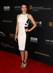 Lauren Cohan -  BAFTA Los Angeles Jaguar Britannia Awards in Beverly Hills 10/30/14