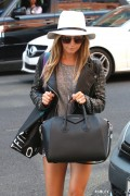 Ashley Tisdale - Out & About in Beverly Hills 10/30/14