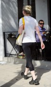 Kirsten Dunst - booty in tights while out in Studio City October 30-2014 x33