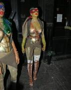 Rihanna - Halloween Party at Opus Nightclub in New York (10/31/14)
