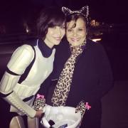 Catherine Bell - Halloween 2014 instagram pics