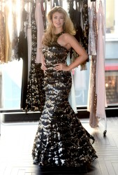 Amy Willerton Reveals her AW14 Collection for KEY Fashions in Soho, London 04/11/2014 28