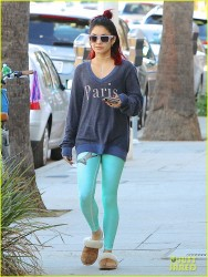 Vanessa Hudgens - Going to Yoga class in West Hollywood 11/4/14