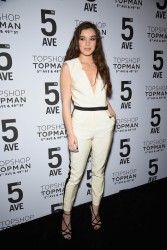 Hailee Steinfeld - Topman Flagship Opening Dinner in NYC 11/4/14