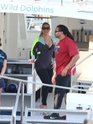 Mariah Carey - Wearing wet suit for boat ride in Perth 01-11-2014