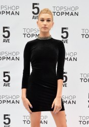 Hailey Baldwin - Topman Flagship Grand Opening in NYC 11/5/14