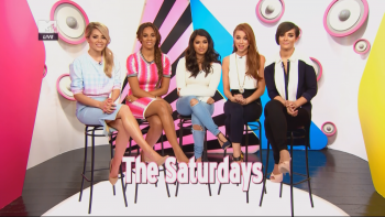 The Saturdays - Night In Top 20 5th April 2014 1080i