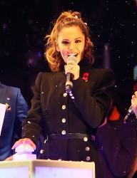 Cheryl Fernandez-Versini Cole Switches on the Oxford Street Christmas Lights in London 06/11/2014 47