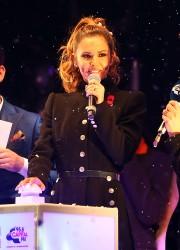 Cheryl Fernandez-Versini Cole Switches on the Oxford Street Christmas Lights in London 06/11/2014 45