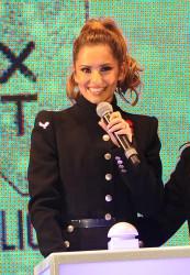 Cheryl Fernandez-Versini Cole Switches on the Oxford Street Christmas Lights in London 06/11/2014 34