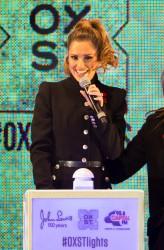 Cheryl Fernandez-Versini Cole Switches on the Oxford Street Christmas Lights in London 06/11/2014 5
