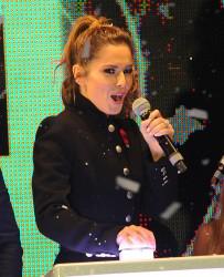 Cheryl Fernandez-Versini Cole Switches on the Oxford Street Christmas Lights in London 06/11/2014 35