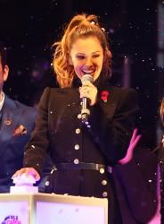 Cheryl Fernandez-Versini Cole Switches on the Oxford Street Christmas Lights in London 06/11/2014 37
